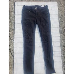 Rag & Bone Black HR Skinny Jeans